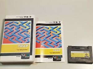 jeu labyrinthe trap pour thomson mo5 to7 tres rare cartouche ebay ebay