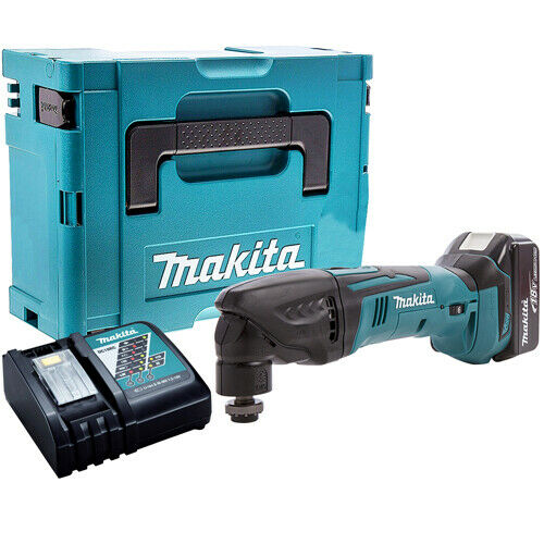 Makita DTM50Z 18V LXT Multi Tool Cutter with 1 x 5.0Ah Battery /& Charger in Case