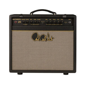 PRS-Paul-Reed-Smith-Sonzera-20-Tube-Guitar-Combo-Amplifier-Amp-20W-1x12-034-Black