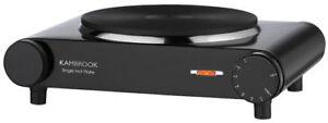 KAMBROOK KHP1B Portable Single Hotplate 1600W Variable Temperature