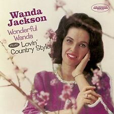 Wanda Jackson - Wonderful Wanda / Lovin Country Style + 6 Bonus TR [New CD] Spai