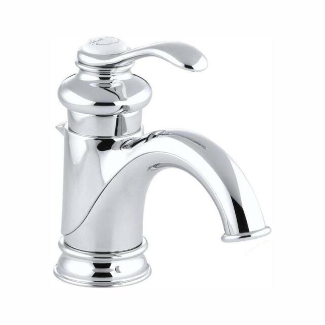 Kohler Fairfax K 12182 Cp Single Handle Bathroom Sink Faucet Chrome For Sale Online Ebay