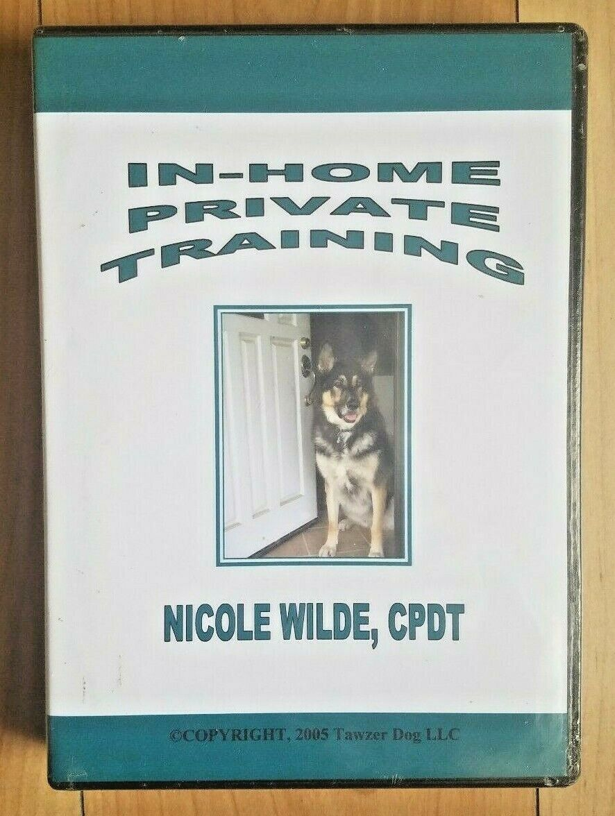 In Home Private Training dog by Nicole Wilde in six parts - CD Set NEW Sealed