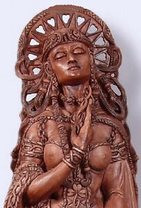 Details about Celtic Goddess Brigid Brigit at Well Pagan Wiccan Statue by  Maxine Miller #11023