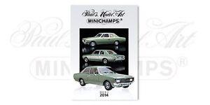MINICHAMPS-Paul-039-s-Model-Art-COLOUR-CATALOGUES-Ed-2-2013-2014-amp-Resin-2014-2015