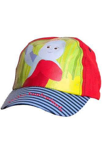 Boys In The Night Garden Iggle Piggle Sun Hat Peak Cap Blue 100/% Cotton 1-3yrs