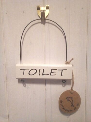 Wood and wire door signs ~ choose from~Toilet~Bedroom~Kitchen~Office
