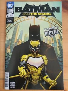BATMAN-and-The-SIGNAL-3-of-3-2018-DC-UNIVERSE-Comics-VF-NM-Book
