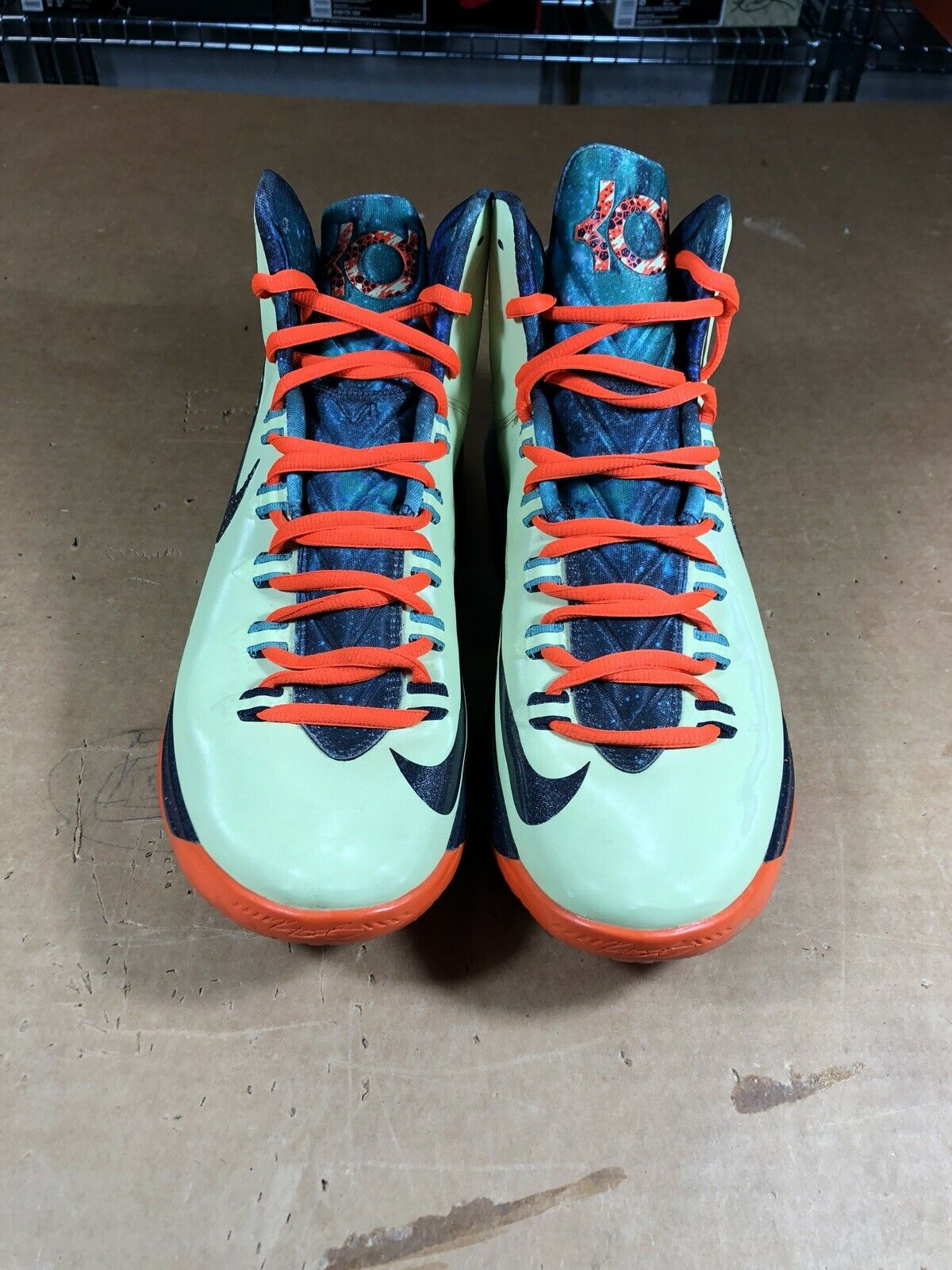 100% Authentic Nike Kd 5 All-Star Area 72 Size 11 583111 300