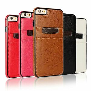 Cuir-Synthetique-COQUE-Arriere-Deluxe-Accessoire-Protection-Silicone-COQUE