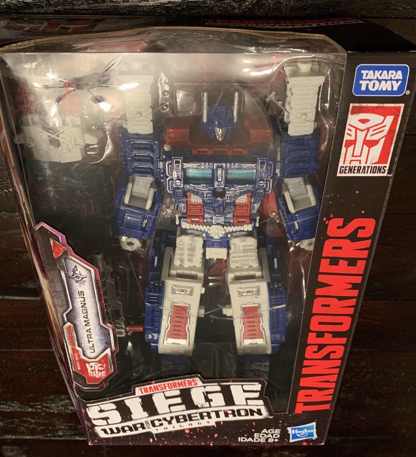 Líder de Transformers Ultra Magnus Cybertron asedio  guerra por Cybertron foc Takara