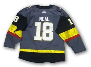 hot sales 0b36e 371a7 Details about Las Vegas Golden Knights adidas James Neal Authentic Pro  Jersey