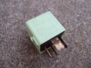 bmw e38 light green relay fuse seimens ebay. Black Bedroom Furniture Sets. Home Design Ideas