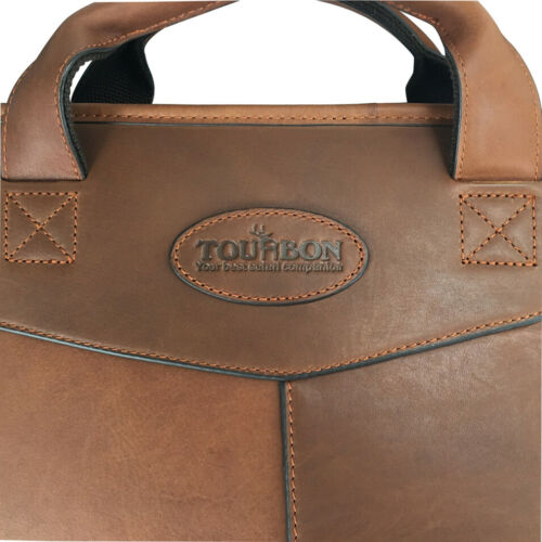 TOURBON Waxed Leather Scope/&Rifle Case Padded Gun Slip Carry Bag Special Offer