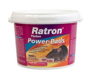 Frunol Ratron Pasten Power-Pads 29 ppm 67x15 g | Rattenköder Rattengift