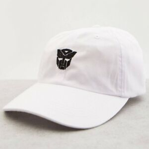 Image is loading BAIT-x-Transformers-Autobots-Dad-Cap-white bdc7b2d25bb