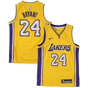 18979ec89 Authentic Nike Kobe Bryant  24 Los Angeles Lakers NBA Home Jersey ...