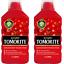 thumbnail 1 - 2 x Levington Tomorite Liquid Tomato Fertiliser Plant Food - 1Ltr Bottle