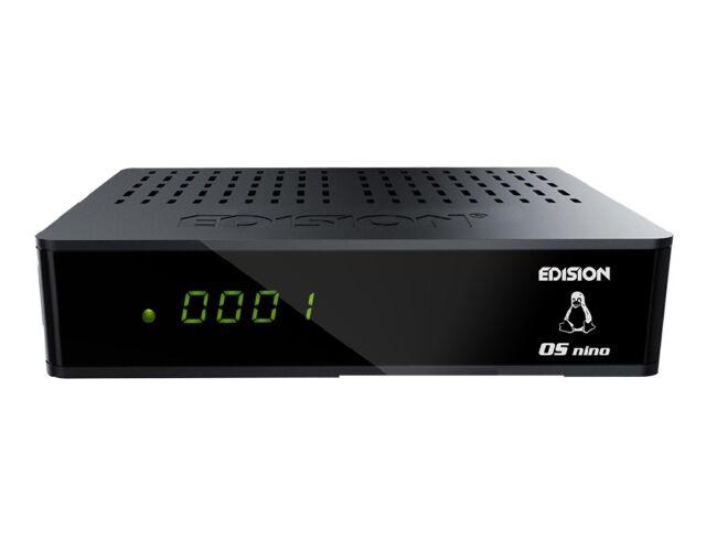 Edision OS Nino S2 Full HD E2 Linux HbbTV 1080p LAN Sat Receiver