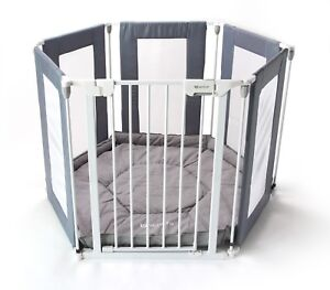 Venture-All-Stars-Baby-Playpen-3in1-Mutli-use-6pc-039-s-Includes-Fitted-Mat