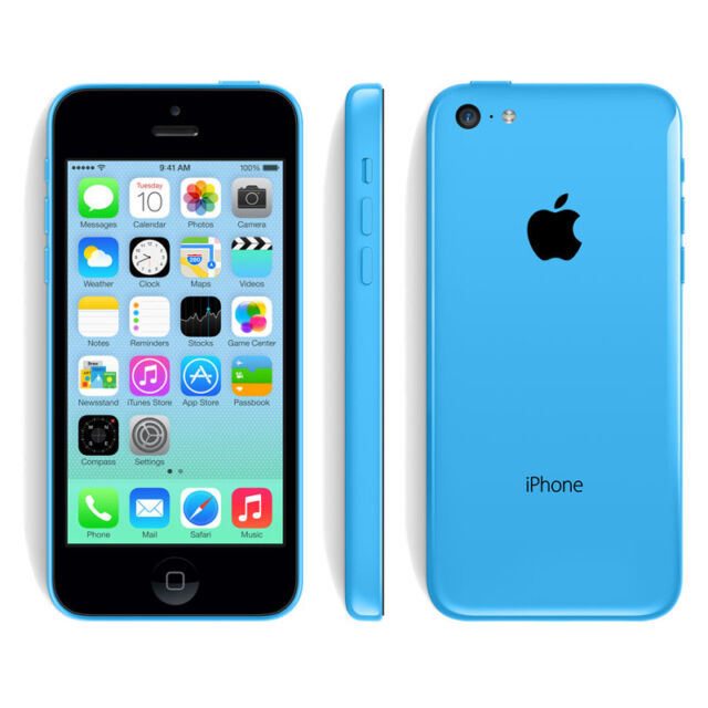 iphone 5 at t price apple iphone 5c 16gb blue at amp t a1532 gsm ebay 7942