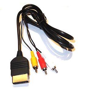 Classic-Original-Xbox-Composite-AV-Audio-Video-Cable-Lead-UK-Seller
