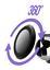 miniatuur 4 - Soporte Imantado Universel Rejilla Ventilación Coche Teléfono (Rosa)
