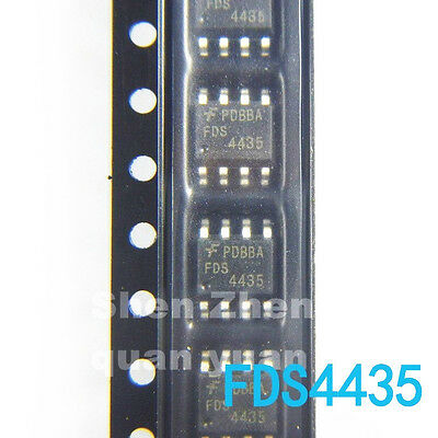 10 PCS FDS4435BZ FDS4435 FDS4435B 4435BZ 4435 P-Channel MOSFET SOP-8 SMD New