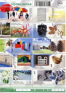 Paesi-Bassi-2017-Gomma-integra-non-linguellato-Museo-voorlinden-Man-Ray-10-V-M-S-BIRDS-FIORI-ART