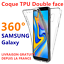 GALAXY-S10-S9-Plus-S8-Note-9-8-housse-etui-coque-integrale-SAMSUNG-silicone-360 miniature 1
