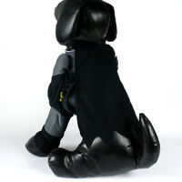Batman Dog Fancy Dress Clothes For Pets Cat Costume Outfit Shawl HG