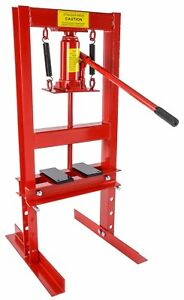 JEGS-81518-Hydraulic-Shop-Press-6-Ton-Bench-Top-Mount