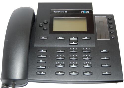 DeTeWe Openphone 63 Systemtelefon für OpenCom 1000 Telefonkomfort System Telefon