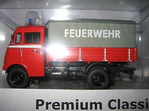 """Premium Classixxs Mercedes-Benz L319 Pritschenwagen """"FEUERWEHR"""" , lim. M 1:43 - Hohenentringen, Deutschland - Premium Classixxs Mercedes-Benz L319 Pritschenwagen """"FEUERWEHR"""" , lim. M 1:43 - Hohenentringen, Deutschland"""