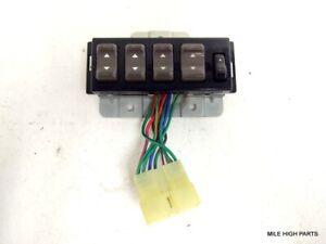 87 91 Isuzu Trooper Driver Master Power Window Switch Assembly Ebay