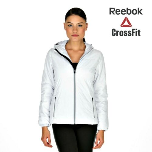 Jacket Reebok Post Womens White Quilted Dso Primaloft Tracked 1FPxwqAx