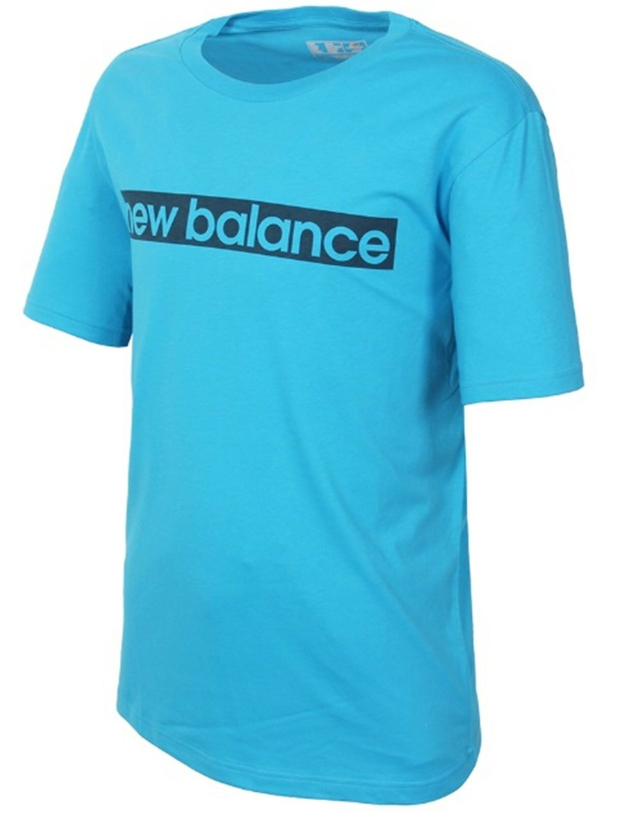 4a40e8fe4 New Balance Men Graphic Tee Shirts Athletic bluee Top Tee GYM Jersey  7B632150