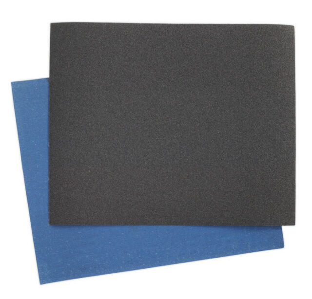 EMERY SHEET BLUE TWILL 230 X 280MM 60GRIT PACK OF 25 FROM SEALEY ES232860 SYSP