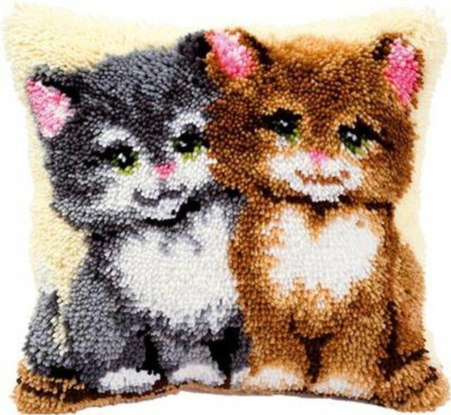 "Vervaco knüpfkissenpackung /""gatos/"" pn-0014131"