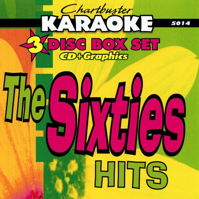 Xmas CD Bonus Chartbuster Karaoke -5014-THE SIXTIES HITS 3 CDG BOX Set