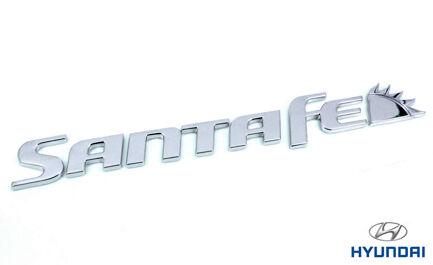 Genuine Hyundai Santa Fe Trasero insignia de Santa Fe 863102B900