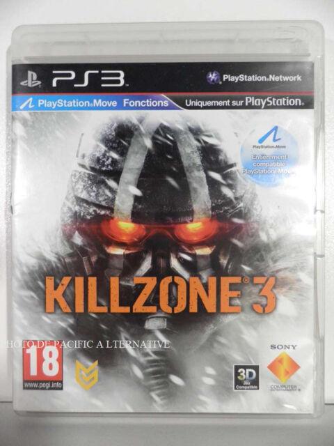 jeu KILLZONE 3 pour PLAYSTATION 3 game action spiel juego gioco francais PS3