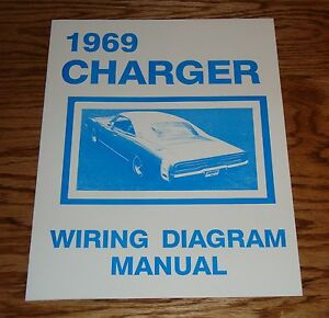 details about 1969 dodge charger wiring diagram manual 69 1968 Camaro Convertible Wiring Diagram