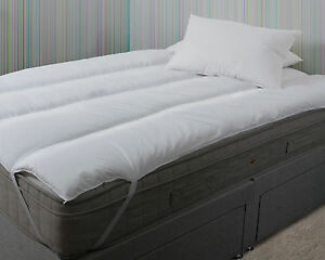 Topping Matras Ikea : Ikea bed king size pure comfort mattress topper polycotton reviver