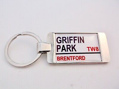 Personalised Crystal Rectangle Brentford F.C