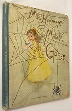 MAUD HUMPHREY'S MOTHER GOOSE  1891 Hardcover 1st Ed Stokes 24 CHROMOLITHOGRAPHS