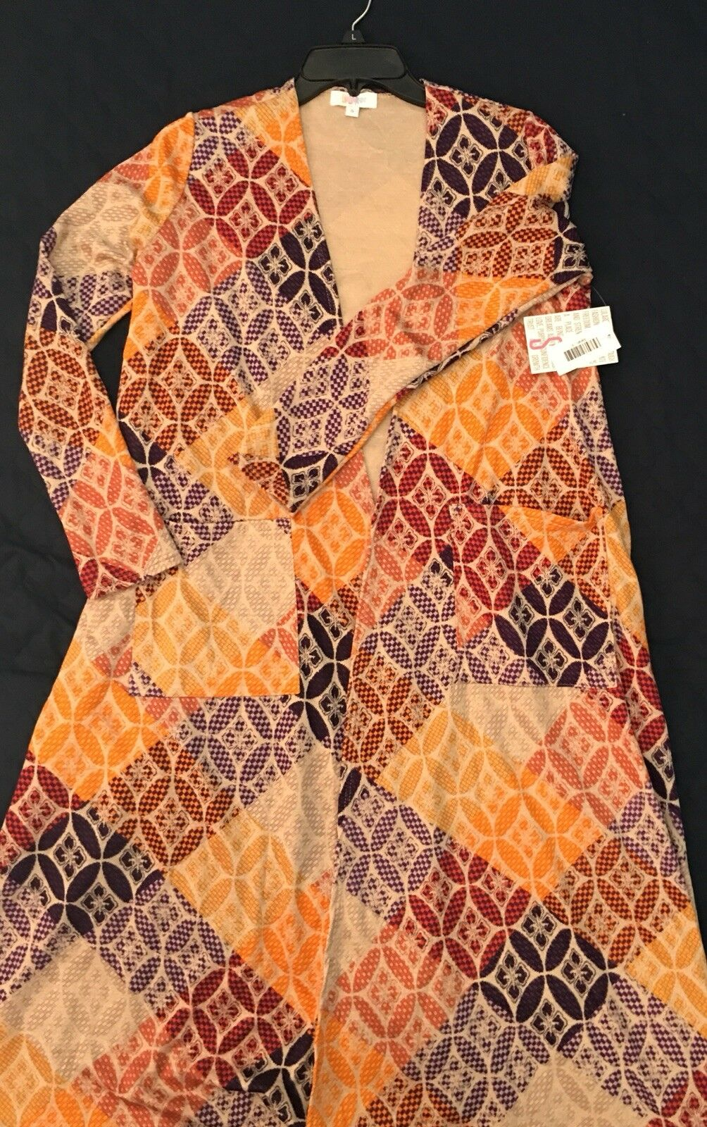 BNWT Lularoe Sarah Long Cardigan, Lightweight, Size Small UNICORN