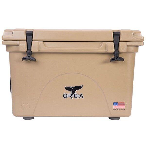 ORCA 40QT TAN COOLER   LIFETIME WARRANTY    TAN 40 QUART COOLER  NEW  online shop