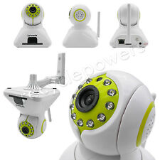 IP Cam web camera HD H.264 Wifi Wireless Audio w Pan Tilt Security Phone control