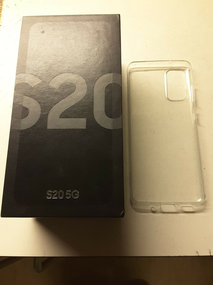 Samsung S20 (5G MODEL) 2SIM KORT 12GB RAM ANDROID 10, 128GB +
